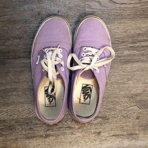 Classic Vans lavender